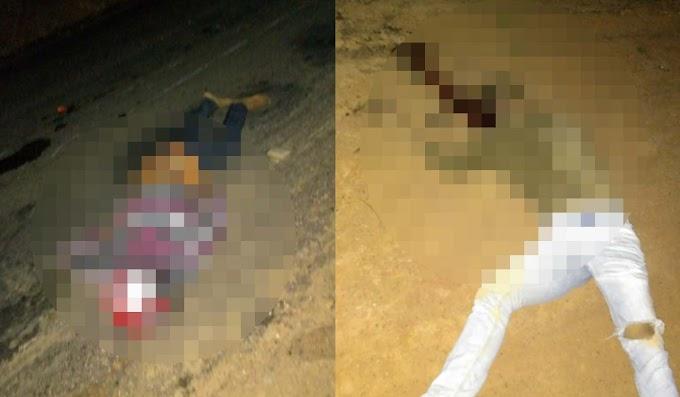 Dois morrem após moto atingir cavalo no município de Serrolandia
