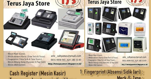 TERUS JAYA STORE - OFFICE/BUSINESS EQUIPMENT (PERALATAN KANTOR/USAHA)