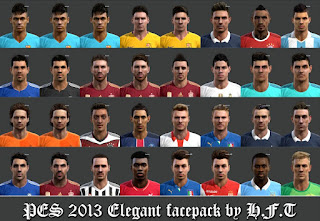 Elegant facepack 2016 Pes 2013 by Vicen