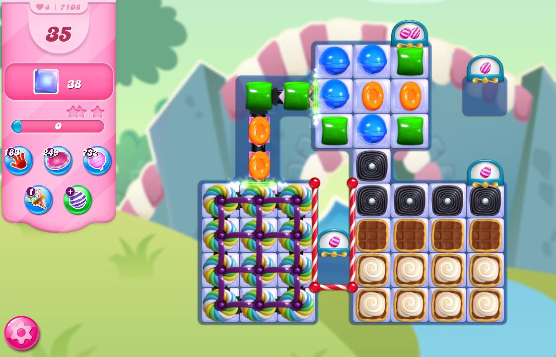 Candy Crush Saga level 7108