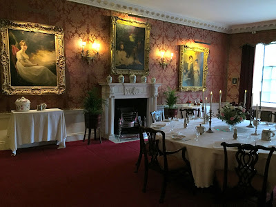 The Dining Room, Polesden Lacey (2017)