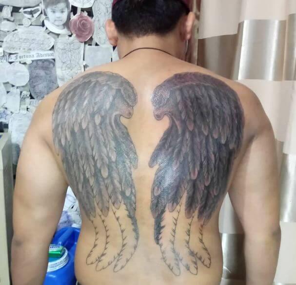 50 Gorgeous Angel Wing Tattoos Designs Ideas 2019 Tattoosboygirl