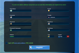 reg gt Tutorial Cara Daftar dan Bermain di Goaltycoon