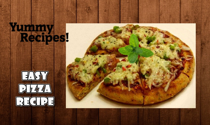 Easy Pizza Recipe - How to Make Pizza at Home