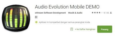 Audio Evolution Untuk android