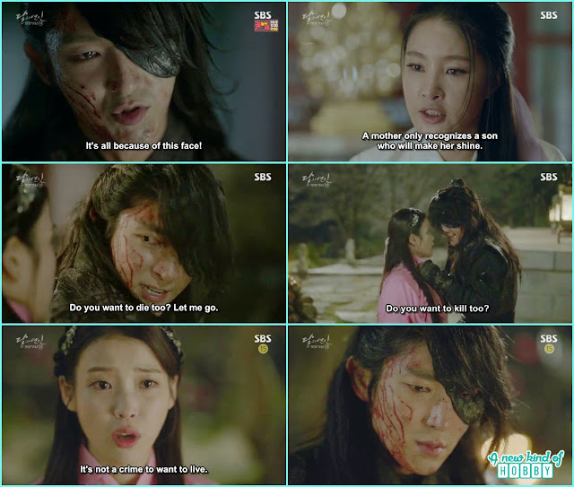 4th Prince destroy the temple and ji soo while stopping him saw the blood - Moon Lovers: Scarlet Heart Ryeo - Episode 4 Review