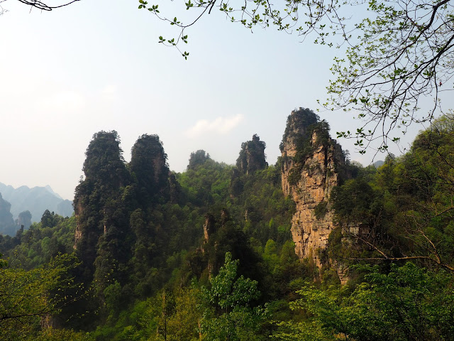 Hike to Tianzi Mountain area of Zhangjiajie National Park, China