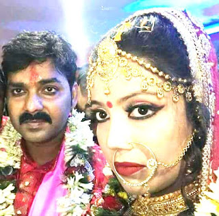 Pawan Singh and Jyoti Singh Marriage Photo