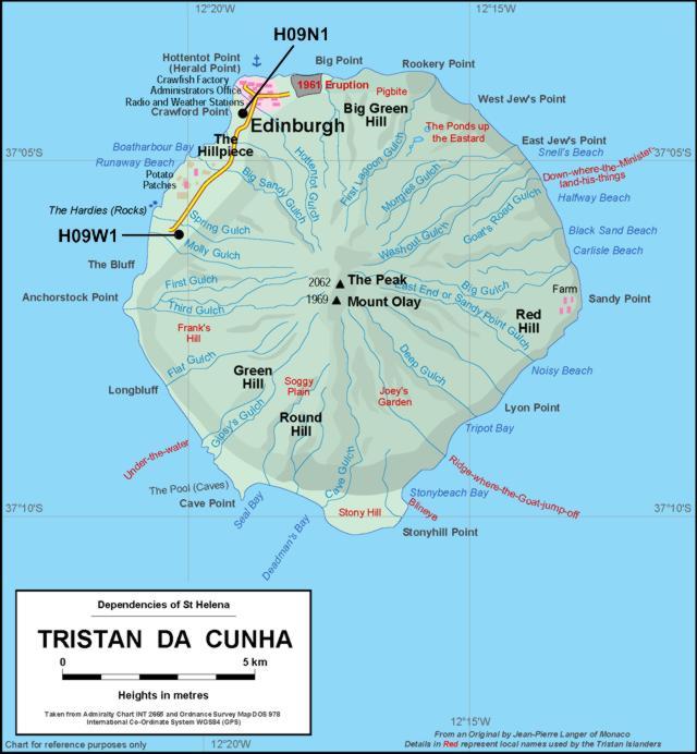 St. Helena, Ascension & Tristan da Cunha