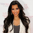 Kim Kardashian Bald patches from Hair Extensions