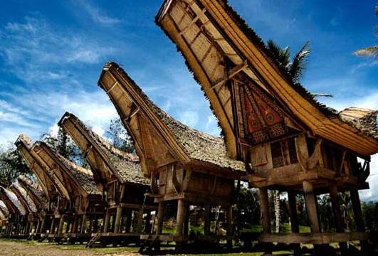 gambar rumah adat dan pakaian adat sulawesi selatan