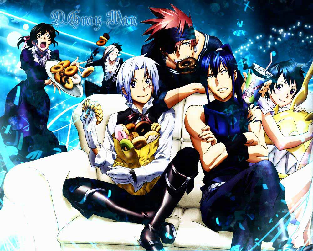 Hq wallpapers d gray man wallpapers - D gray man images ...