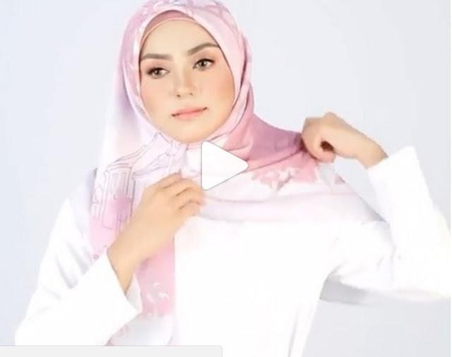 Vidéo Tutoriel Facile Et Rapide Pour Réaliser Un Hijab Chic Tendance 2017