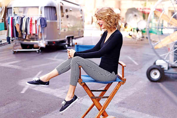 Looks com Tênis keds taylor swift