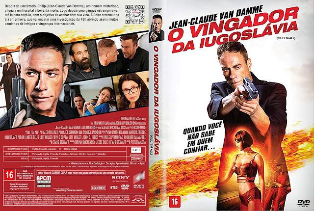 Capa DVD O Vingador da Iugoslávia [Custom]