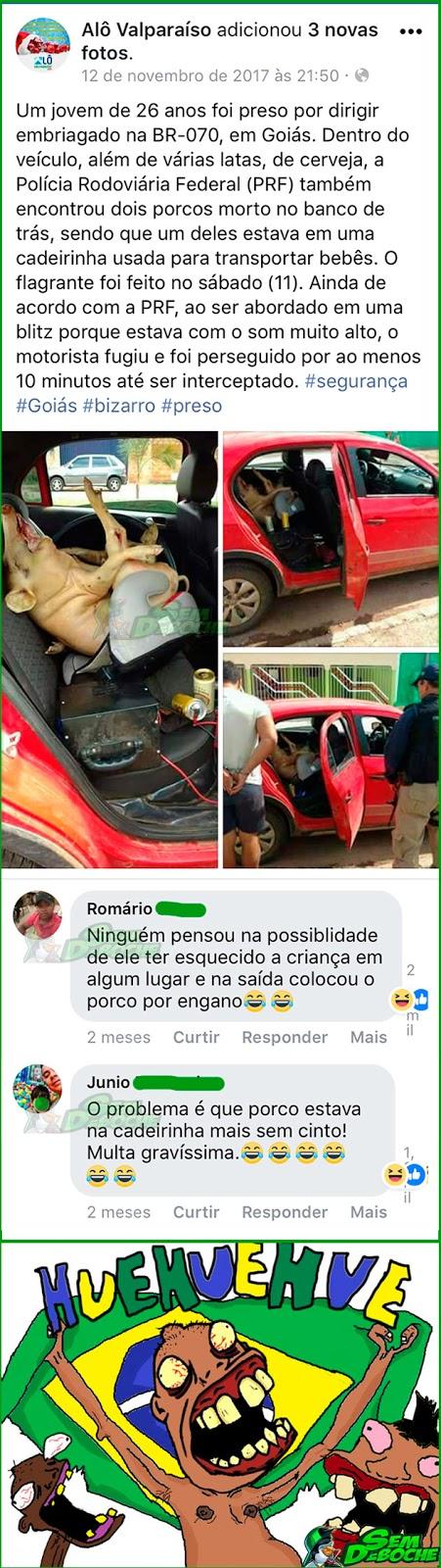 PARECE QUE A PRF ATENDEU UM CHAMADO DIFERENTE HOJE