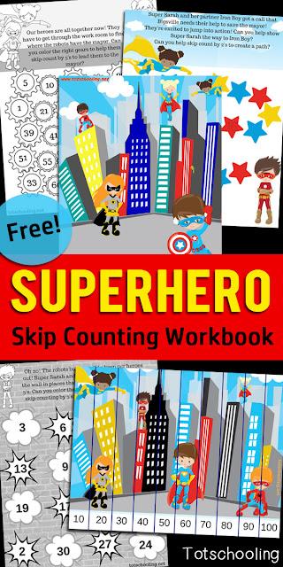 Superhero Word Families Totschooling