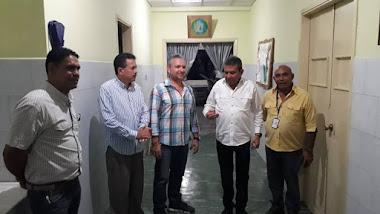 Fonhvim entregó materiales de construcción para el hospital de Lagunillas
