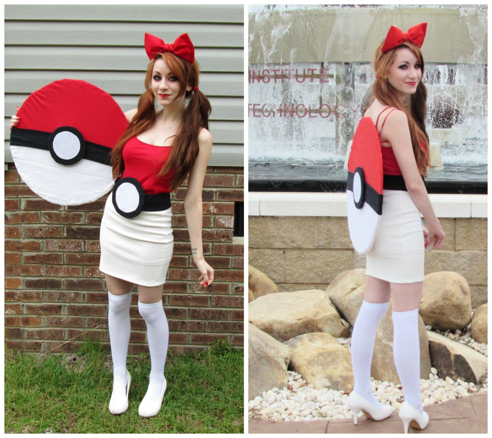 Funny homemade girl costumes