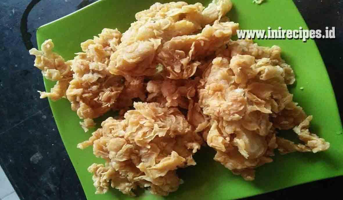 Resep Chicken Abang - Abang Super Renyah. Enak dan Gurihnya Sampai Ke Tulang