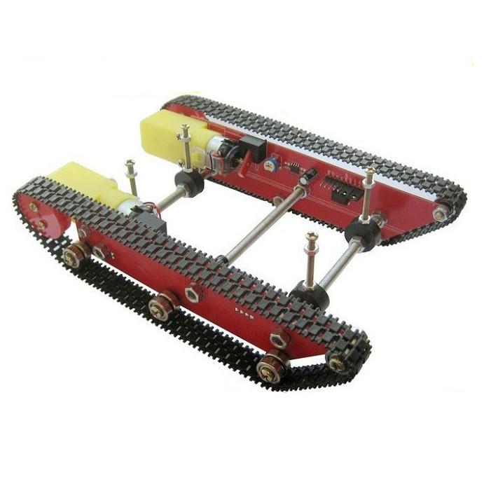 Alma de herrero chasis orugas para robot