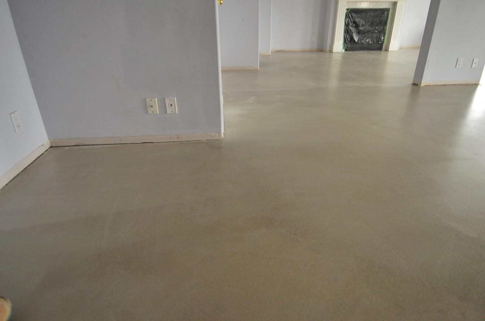 Concrete Floor Tiles >> MODE CONCRETE: Cool and Modern Concrete Floors