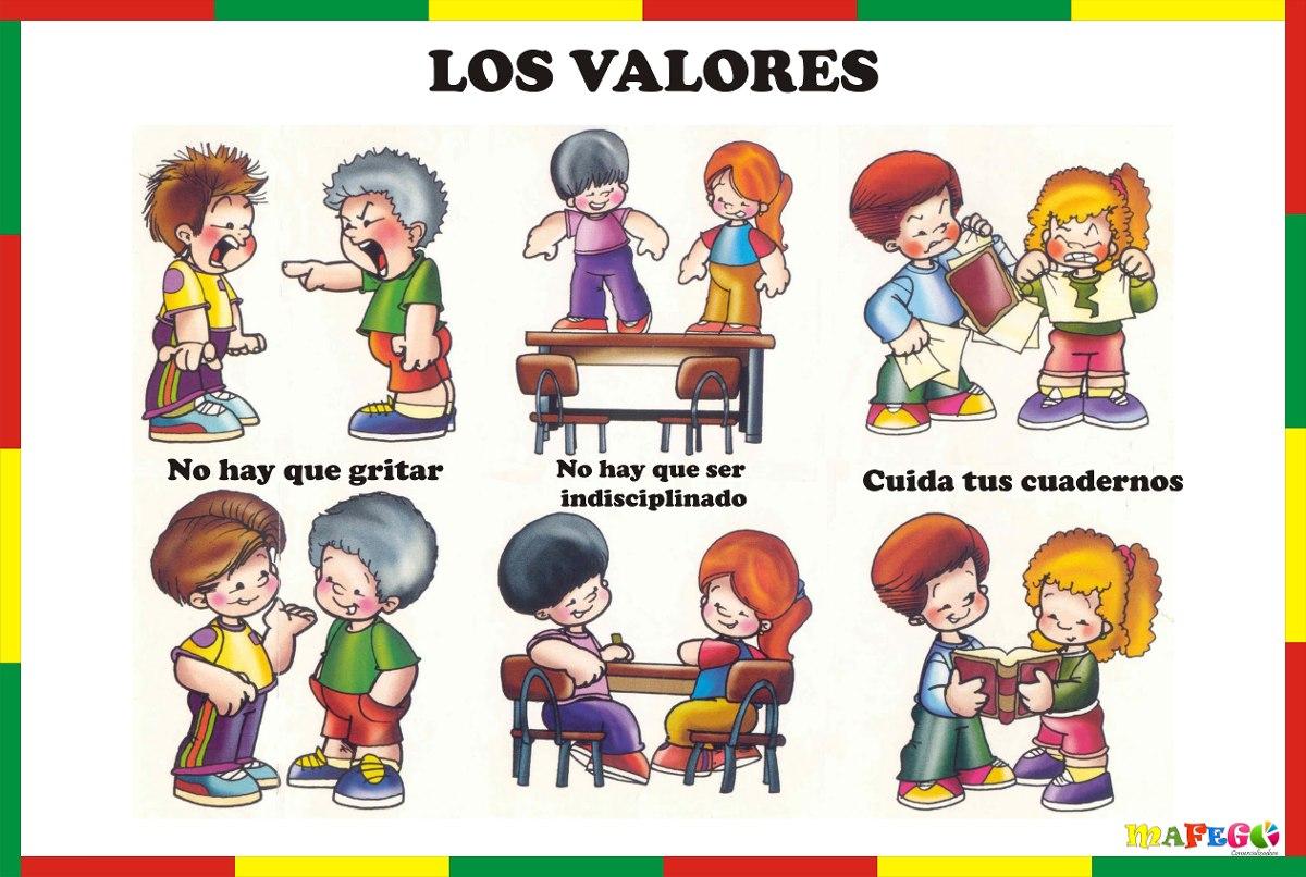 VALORA TUS VALORES EDUCACIÓN INFANTIL