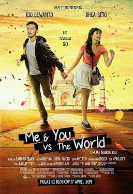 Poster Film Me & You vs The World