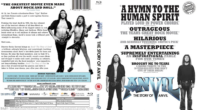 Anvil: The Story of Anvil Bluray Cover
