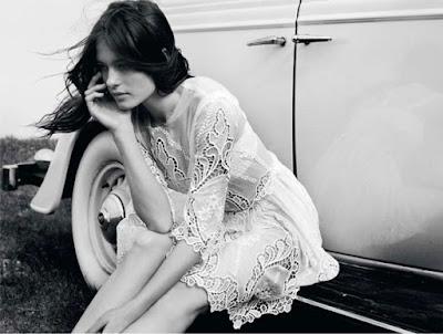 vestidos de renda vintage