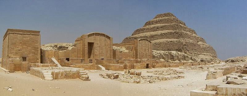 Necrópolis de Saqqara en Egipto