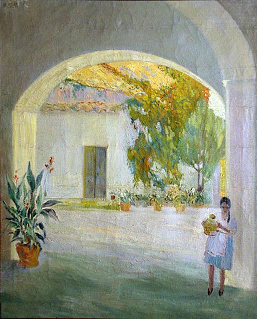 Higinio Blat, Paisajistas españoles, Paisajes de Higinio Blat, Pintor español, Pintores de Alicante