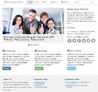 Tiga template blog yang didesain khusus untuk blog bisnis Template Blogger untuk Blog Bisnis, Perusahaan, Instansi, Organisasi, Sekolah