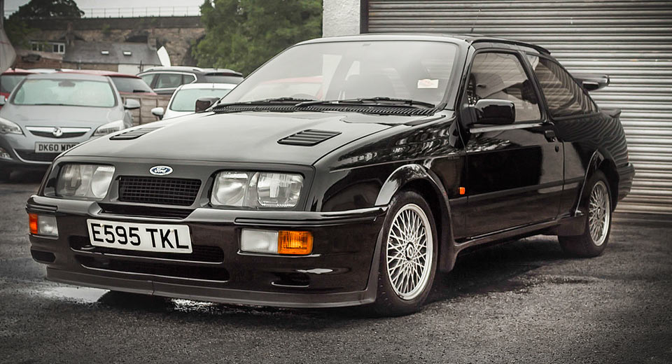ford sierra cosworth rs500 sells for staggering 148 000. Black Bedroom Furniture Sets. Home Design Ideas