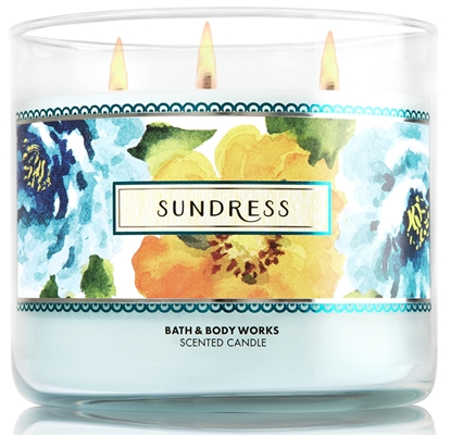 avis Sundress de Bath & Body Works, blog bougie, blog parfum, blog beauté