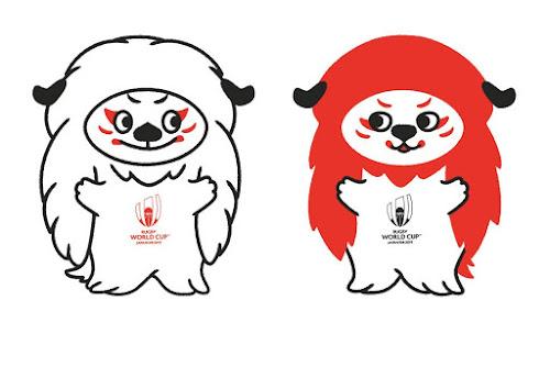 Presentando a Ren-G, las mascotas oficiales de RWC 2019