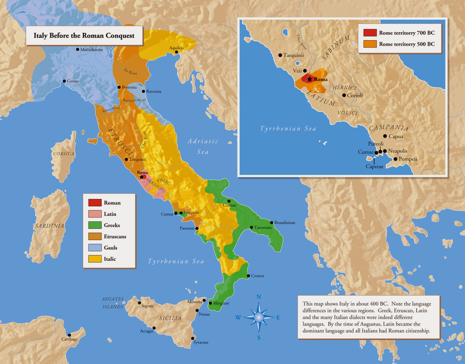Ancient Rome S Geography