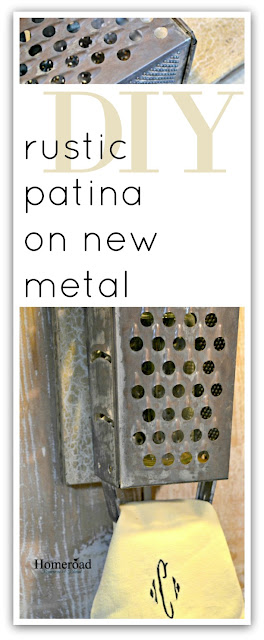 rustic patina pinterest pin