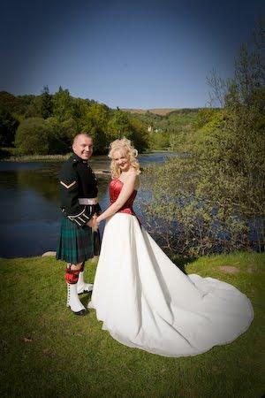 The Wedding Of Gemma And Kevin 30 April 2017 Stirling Registry Office University King Robert Hotel