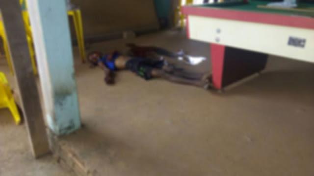 Duplo homicídio é registrado em bar de Ji-Paraná
