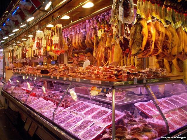 barcellona Il mercato della Boqueria.