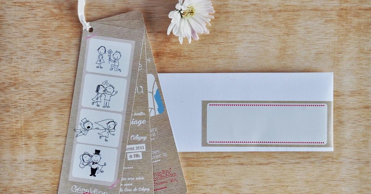 arr te de r ver faire part un mariage nature en toute simplicit le photomaton en kraft. Black Bedroom Furniture Sets. Home Design Ideas