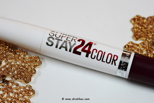 Maybelline New York Superstay 24 Color 2 Step Lipstick