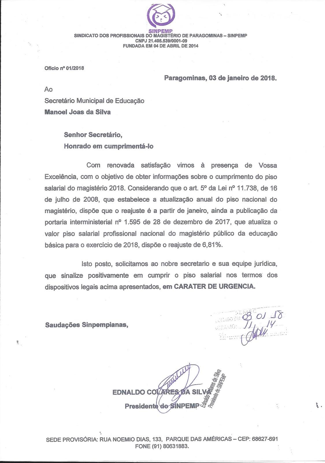 scan0004 - Professores de Paragominas deflagram GREVE