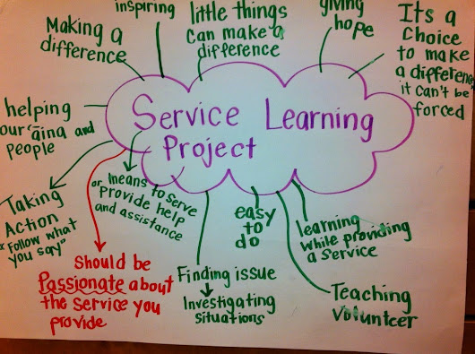 """The Politics of Service Learning"" Kahne and Westheimer"