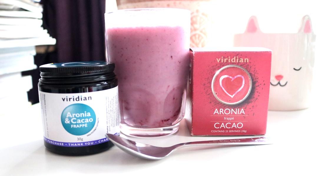 Viridian Aronia & Cacao Frappé review