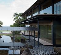 Casa Agua-Cerezo Kengo Kuma