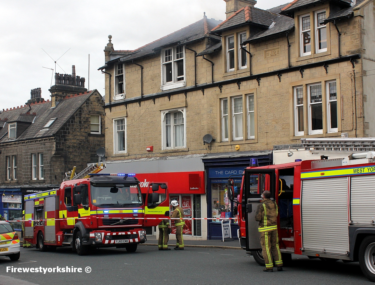 Grahams Fire Page Woman Rescued From Bingley Flat Fire