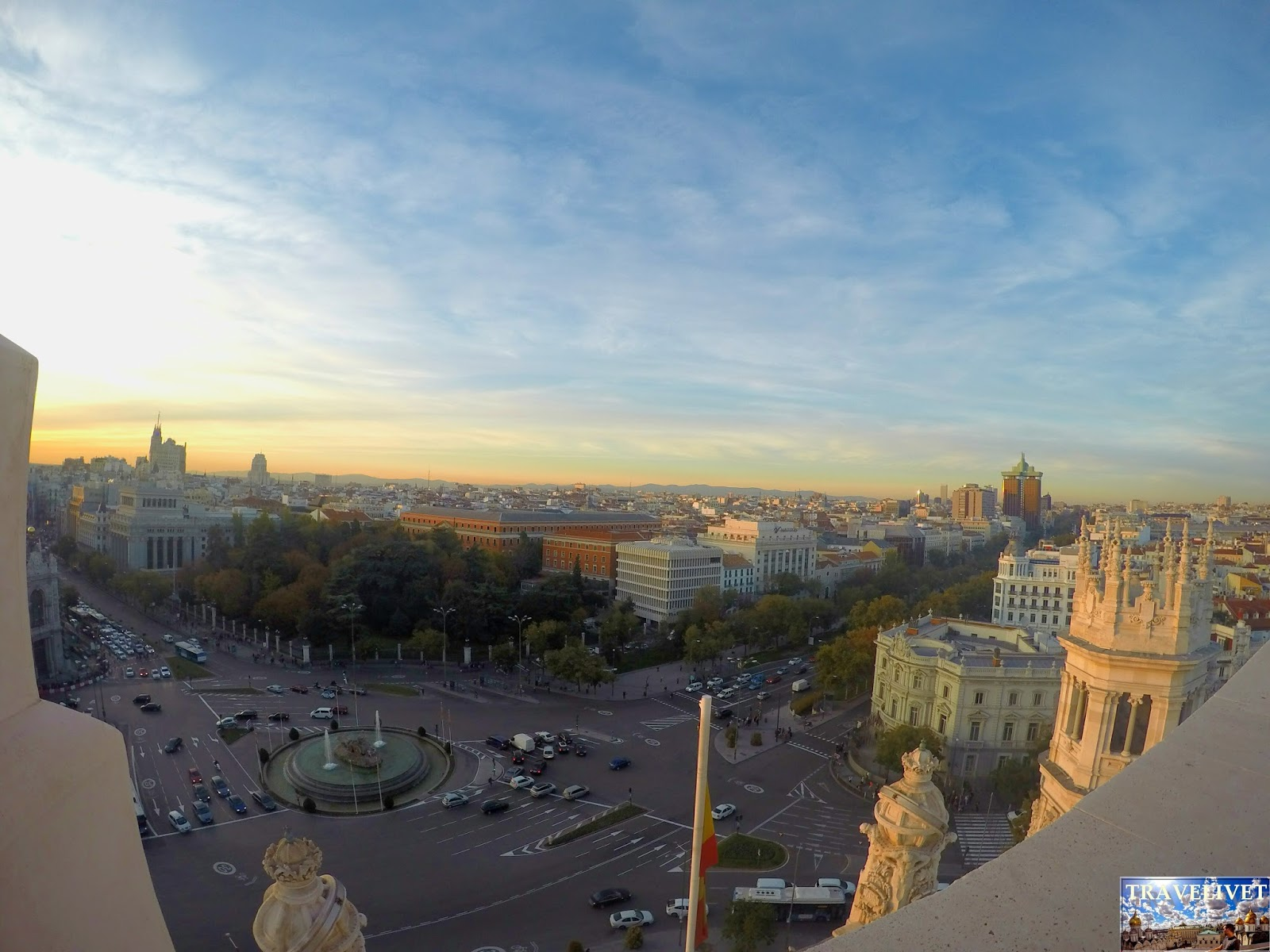 Espagne : Madrid :  Cibeles