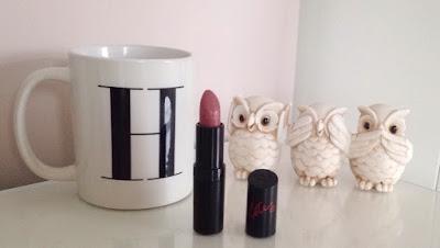 Rimmel 08 deep rosy pink lipstick